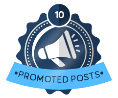 10th Promoted Badge